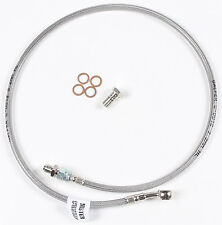 GALFER BRAKE LINE FRT SILVER SUZUKI PART# D577-1 NEW
