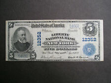 Series 1902 $5.00 The Liberty National Bank of New York