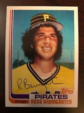 1982 Topps Traded Ross Baumgarten Pittsburgh Pirates 3T