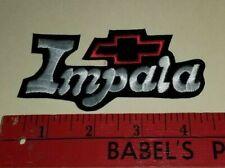 Chevy Impala iron on patch