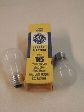 GE 15W Bulbs 125 Lumens JG15-A1 2 Per Pack