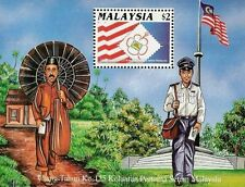 125th Anniversary Of First Malaysia Stamp 1992 Postman Postal History (MS) MNH
