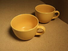 Signature Housewares Mug Peach Set of 2 Ceramic Stoneware