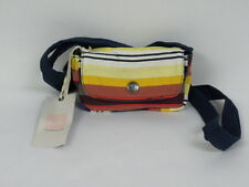 Quiksilver Women Multicolor Small Crossbody Handbag Purse Bag Cellphone