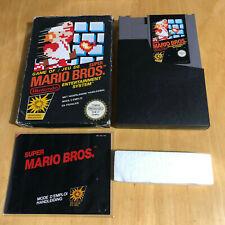 Nintendo NES Boxed Game Complete - Super Mario Bros PAL B SM-FRA