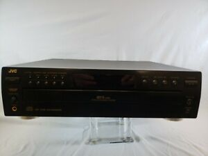 JVC 5 Disc CD Player Automatic Changer XL-F154BK  Tested No Remote