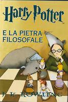 LIBRO • Harry Potter e la Pietra Filosofale 2007 COPERTINA RIGIDA SALANI RARO