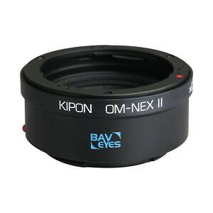 Kipon Adapter Focal Reducer Speedbooster for Olympus OM to Sony E Camera NEX