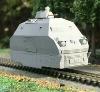 OO9 Type 42 Wickham Armoured train - Vietnam era for a KATO 109 chassis - 009