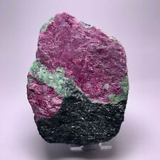 Rubin Zoisit Tansania Ruby Rohstein Mineral Rough Stone Carving