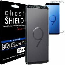 Paquete De 2 Techgear Samsung Galaxy S9 TPU Funda Protector de pantalla de Escudo fantasma