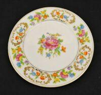 Noritake Fine China Dresdena Bread Plate White w/ Bright Colorful Floral Design