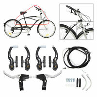 High Quality Bicycle Lightweight Brake Mountain Bike Levers Front Rear For BMX