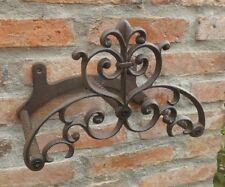 Ferma Tubi Ghisa Ornamento Antico Cottage Stile Country Giardino Nuovo