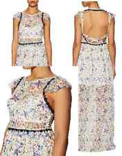 NWT Free People Cherry Blossom Maxi Dress (Size 0) Open Back $350 Spring Garden