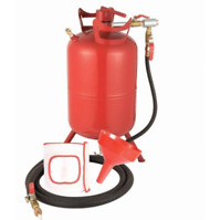 20 lb. SANDBLASTER Abrasive Sand Blaster Blasting Media Air Tank Portable Gallon