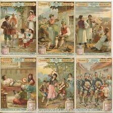 Chromo Liebig Sang. 561 ITA Istrumenti di Musica Nazionali ANNO 1898