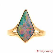 Estate Opal 14K Yellow Gold Ring NR