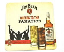 Jim Beam Borbón Whisky Posavasos de Cerveza Base Coaster EE.UU.
