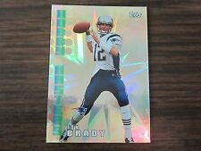 2002 Topps # HM2 Hobby Hasters Tom Brady Card New England Patriots (B2)