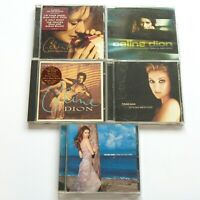 CELINE DION 5 CD LOT These Are Holidays, Colour Love, Let's Talk, New Day, Drove