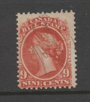 Canada revenue fiscal stamp used 4-12