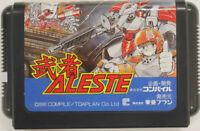 "Sega Mega Drive ""Musha Aleste"" Shooting Game Soft Vintage Retro"