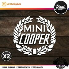 2x Mini Cooper - Sticker, vinyl, Mini, Cooper works, JCW, S, One, Countryman