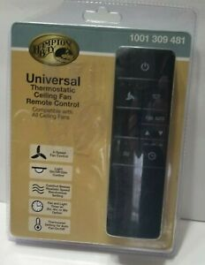 Hampton Bay Universal Thermostatic Ceiling Fan Remote Control 1001 309 481 NEW