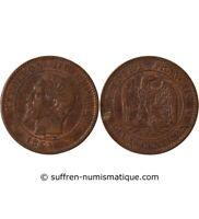 NAPOLEON III - 2 CENTIMES 1854 W LILLE