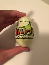 Dinosaur Egg Bath Bomb With Baby Tyrannosaurus Juicy Melon Scent Dino-Fizz