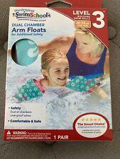 NET Swim School Dual Chamber Arm Floats Pink - 30-55 Lbs