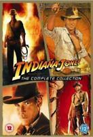 Indiana Jones - The Completo Adventures(4 Film) DVD Nuovo DVD (PHE9826)