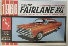 AMT1091 - 1966 Ford Fairlane GT/GTA 1/25 Scale Plastic Model Car Kit