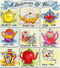 BOTHY THREADS A DICTIONARY OF TEA COUNTED CROSS STITCH KIT TEAPOT - NEW
