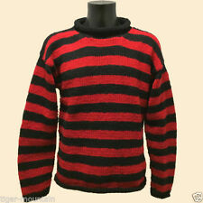 Wool Striped Jumpers & Cardigans for Men