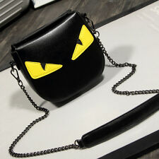 Fashion Style Handbag Mini Yellow Eye Monster Messenger Bags  Shoulder bag 2017