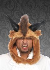 Leg Avenue Brown Brutal Beast Hood Headpiece