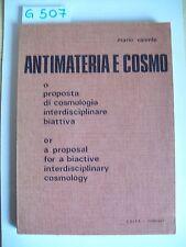 MARIO VALENTE - ANTIMATERIA E COSMO - EDITA