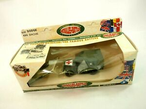 Solido 6111 The Famous Battles Dodge 4x4 Bache Box & Papers
