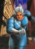 QUICKSILVER / 1994 Fleer Flair Marvel Annual BASE Trading Card #13