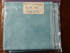 "FABRIC - 32ct. ""Evenweave""  13""x16"" Hand Dyed Cross Stitch Fabric BLUE ICE"