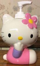 Hello Kitty Soap Lotion Dispenser Bottle Retired Rare Piece Ceramic NEW