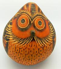 Hand Made Peruvian Decorative Bird Gourd