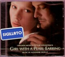 "THE ORIGINAL SOUNDTRACK "" GIRL WITH A PEARL EARRING "" CD SIGILLATO 028947553724"