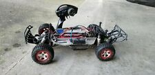 Traxxas Slash 2wd with castle motor lipo 2 cell battery, charger and extra shell