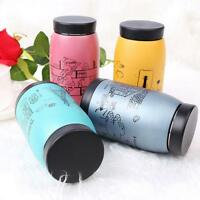 Stainless Steel Vacuum Cup Thermos Travel Insulated Mug Water Bottle 250ml