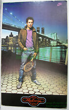 NITF! John McEnroe NIKE Poster ☆ w/ Brooklyn Bridge WTC Twin Towers ☆ Foam Board
