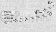 TUBO DI SCARICO CENTRALE BOX CITROEN C2 1.4 Benzina due volumi 12/2005 a 12/2009