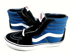 Vans Sk8 Hi Skate Shoes Navy Men's Size 9, Women's Size 10.5 VN-000D5INVY